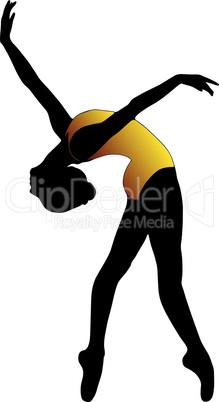 Рисовать девушку в танце